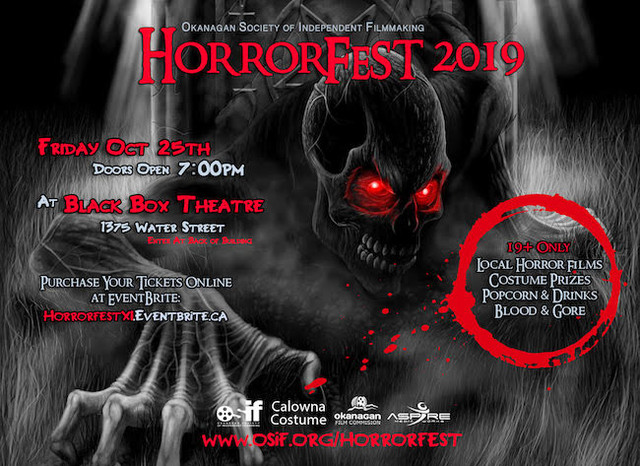 HorrorFest an adult themed party is returning to Kelowna Oct. 25