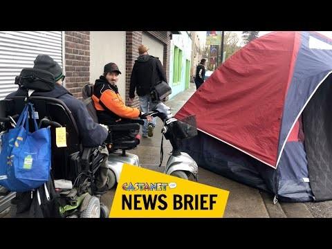 Wheelchair-bound man can't access Gospel Mission (Kelowna)