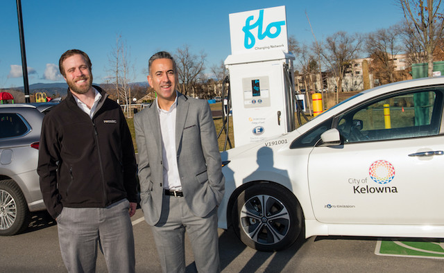 Two more fast charge EV stations open in Kelowna - Kelowna News