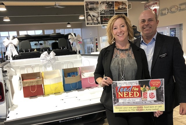Penticton dealership collecting donations for food bank - Penticton News - Castanet.net