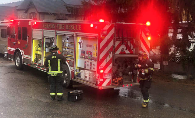 Smoke reported in a home on Brooks Lane - Vernon News - Castanet.net