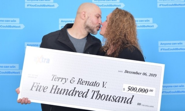 Lotto win puts a new shine on Christmas for Burnaby couple