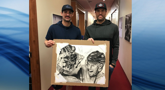 Weber and Price sign artwork; prints on sale for charity - Kelowna News
