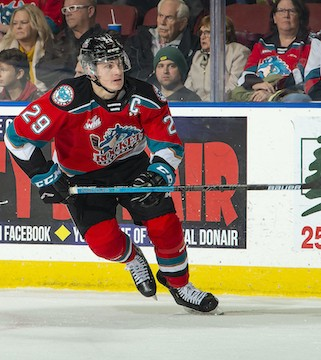 Kelowna Rockets captain Nolan Foote has made it past the first round of cuts for Canada's National Junior Team.