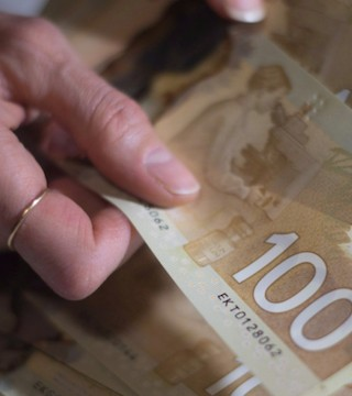 Statistics Canada says household debt went up in the third quarter.