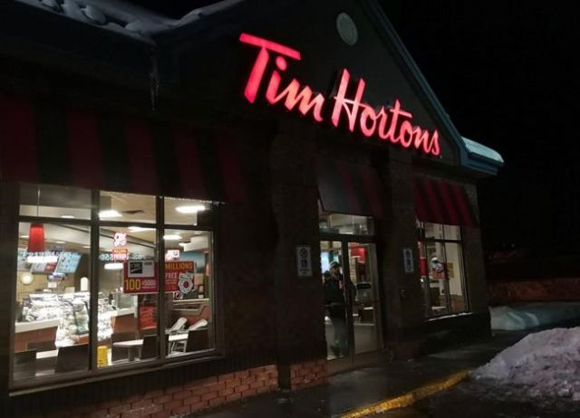 tim hortons opens in china business news. Black Bedroom Furniture Sets. Home Design Ideas