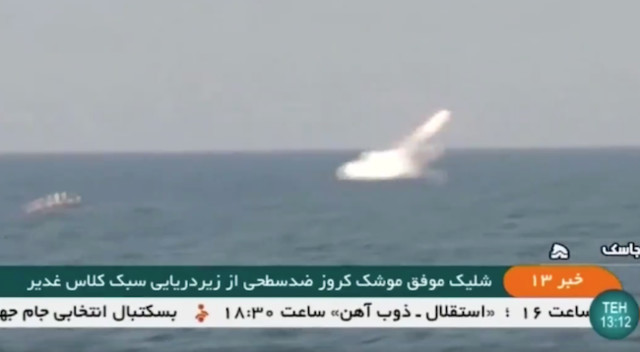 Iran launches cruise missile - World News - Castanet net