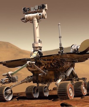 NASA tries one last time to contact Mars rover before calling it quits.
