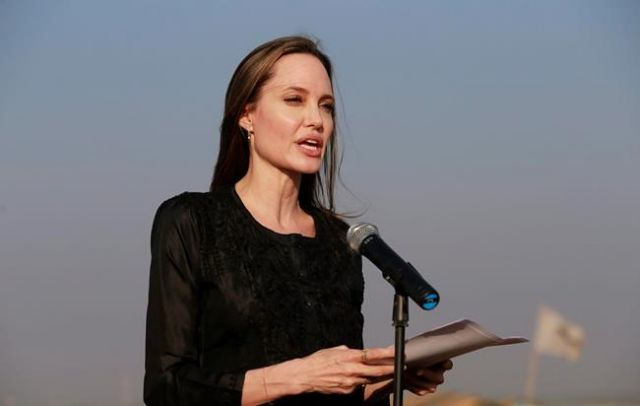 Angelina Jolie not ruling out running for office one day