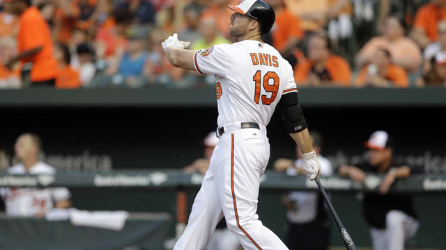 Orioles' Davis sets record with 0-for-49 skid