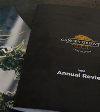 Canopy Growth Corp.�s co-chief executive says he is expecting the company to generate $1 billion in revenue.