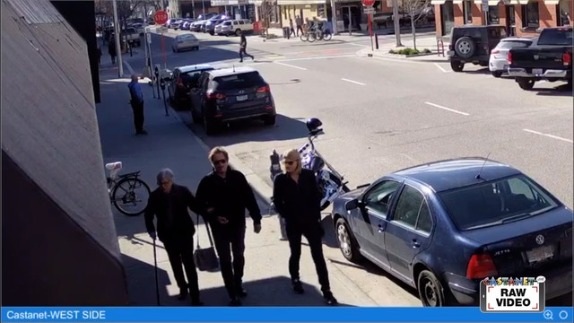 Sons of Anarchy star in town