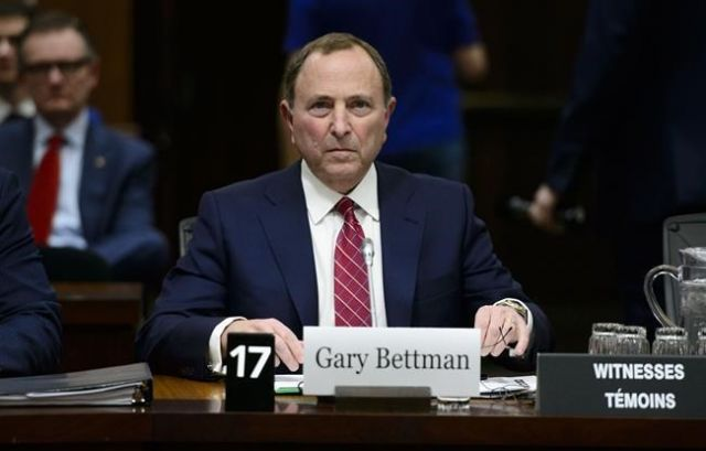 Gary Bettman Hockey Cant Completely Eliminate Head Injuries