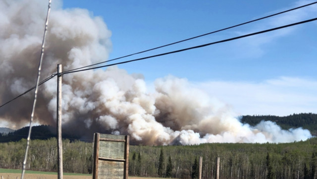 State of emergency declared, evacuations ordered amid central B.C. wildfire