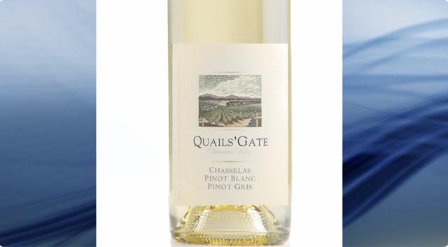 Quails' Gate Chasselas - Wine Reviews