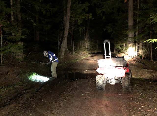 Overnight search for camper - Kelowna News