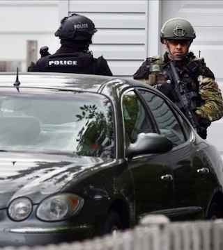 The RCMP isn't positive  that complete its officers gain access to the rifles and carcass armour needed to respond to an lively  shooter.