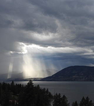 A weather alert for the Okanagan has now been lifted but remains in effect for the Similkameen.