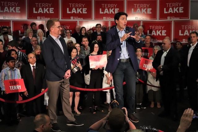 Trudeau debuts Terry Lake - Kamloops News