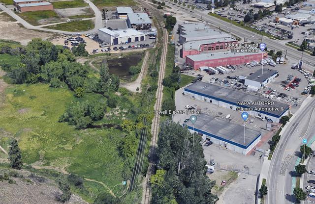 Small fire on Rail Trail - Kelowna News