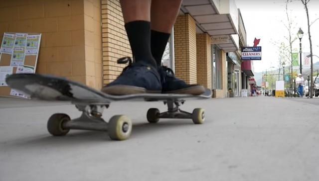 Roads open to skateboards - Kelowna News