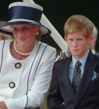 Prince Harry offers support for late mother's cause.
