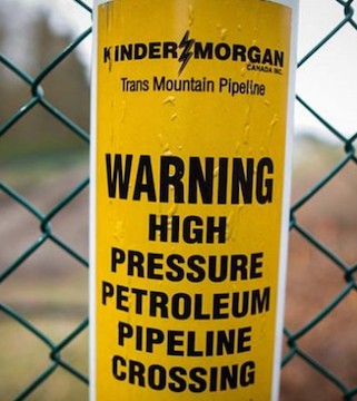The Trans Mountain pipeline decision is expected on Tuesday.