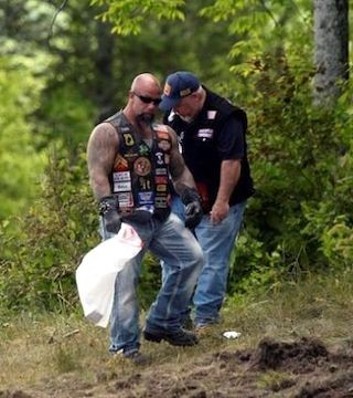 The crash in remote northern New Hampshire involved members of Marine JarHeads MC, a motorcycle club that includes Marines and their spouses.