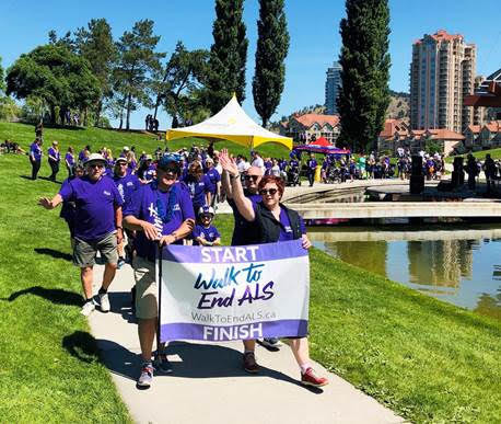 Walk to End ALS results - Get Involved