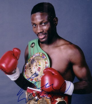 Former Olympian and boxing champ killed in collision.