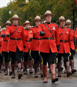 RCMP marching towards unionization.