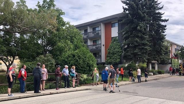 Apartment block evacuated - Kelowna News