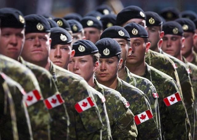 No racy tattoos for soldiers - Canada News - Castanet net