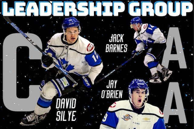Vees name captains - BCHL