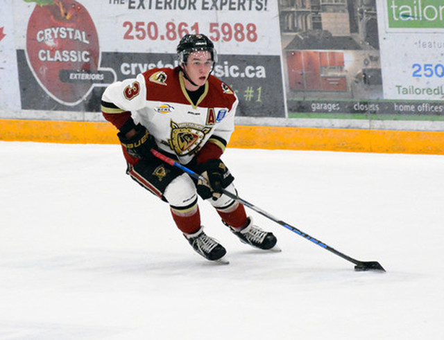 Harrison gets Warriors C - BCHL