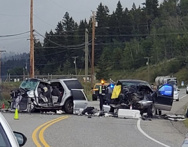 Hwy 97 open after fatality - BC News - Castanet net