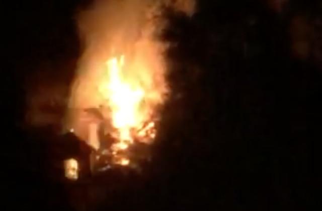 Abandoned home ablaze - Kelowna News