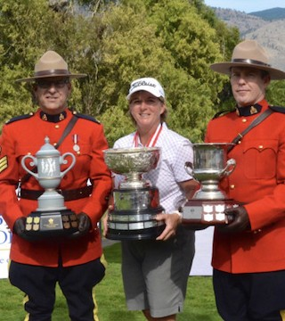 A golf tournament featuring some of Canada's top female golfers wrapped in Osoyoos Tuesday.