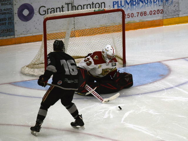 Warriors come up just short - BCHL