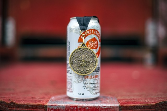 Locals ciders win gold