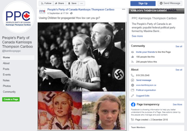 PPCer stands by Nazi post - Kamloops News