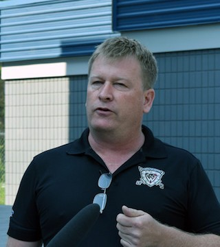 The owner of the West Kelowna Warriors says he's being sued because he didn't let an investor's son play on the team.