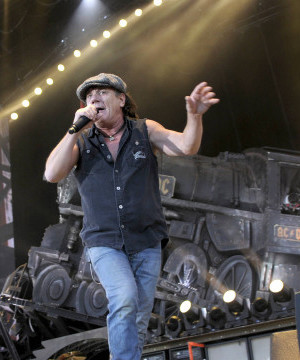 Brian Johnson rejoining AC/DC bandmates for world tour later this year.