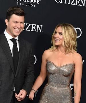 Scarlett Johansson and Colin Jost marry in private ceremony.