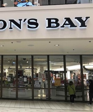 Hudson's Bay granted court order to reopen in Coquitlam, must pay half rent.