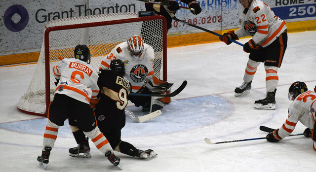 BCHL scoring-leader Kent Johnson hit 100 point mark in win - BCHL