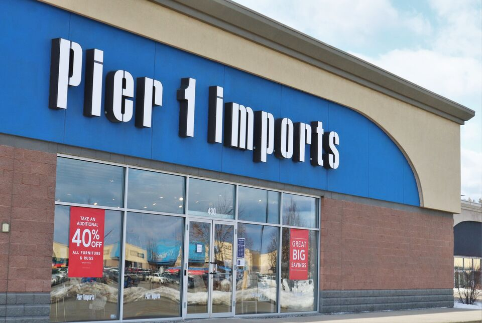 Pier 1 Shutting Down All Canadian