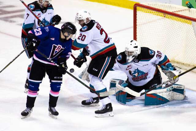 Kelowna Rockets picked up three of four points in Victoria - WHL
