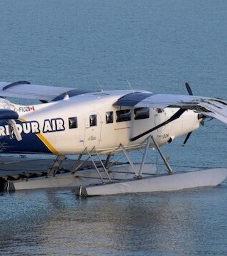 Vancouver police are hunting the suspect in an attempted float plane theft overnight.