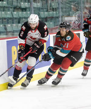 Kelowna Rockets prevail in overtime on the road in Prince George.